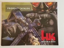 Heckler & Koch HK Military Product Catalog Booklet Dated 12/13/2016 (2017) NEW