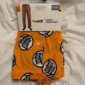 Dragon Ball Z - Goku - Men's Sleep Lounge Pants (2X-Large 44-46) Sleepwear - NEW