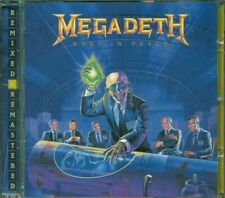 💥Megadeth - Rust In Peace Remixed & Remastered Cd Perfetto