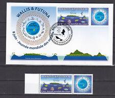 Wallis et Futuna 2019 Ocean's day Environmental Protection Uvea RARE MNH Luxe**