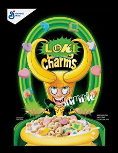 """Loki Charms 3""""x4"""" Flexible Fridge Magnet BL640"""