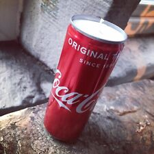 Coca Cola Upcycled Vanilla Scented Candle Soy Wax Yankee
