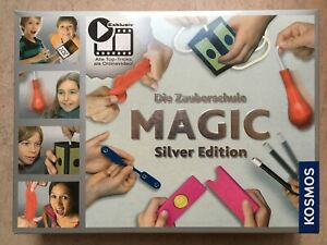 Kosmos 698225 Zauberkasten Zauberschule Magic Silver Edition 100 Tricks SEHR GUT