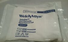 5 Welch Allyn Trimline Vinyl Disposable Blood Pressure Replacement Cuff Adult
