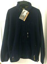 PATAGONIA Mens Original SYNCHILLA PCR Fleece Jacket XXL Blue Long Sleeve NEW
