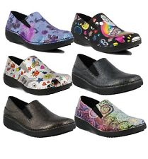 Spring Step Professionals Women's Ferrara Slip On Work Shoes Comfort Clogs NEW