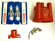 VW T1 Beetle T2 Camper Pugs Points Rotor Arm And Distributor Cap
