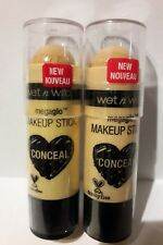 Lot of 2 Wet n Wild Megaglo Makeup Stick Conceal 809 Your're Natural