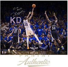 "KEVIN DURANT Autographed ""MVP"" 16 x 20 Photograph LE 12/35 PANINI"