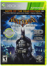 New Sealed Batman: Arkham Asylum [Game of the Year Edition] For X-BOX 360 FREE!!