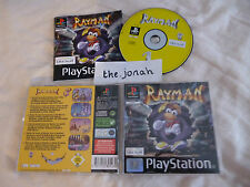 Rayman PS1 (COMPLETE) 2D platform black label Sony PlayStation classic rare