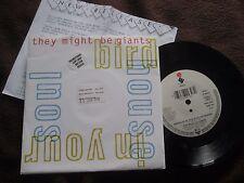 "They Might Be Giants Birdhouse In Your Soul Elektra EKR 104 Vinyl 7"" Single + PR"