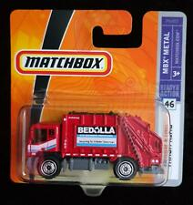 MATCHBOX TRASH KING #46 MBX METAL RED TRUCK - NEW in UNOPENED BLISTER PACK