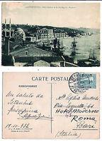 Costantinopoli -  2e mezzo Kurus - viaggiata per Roma  nel 1922 -