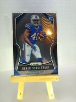 DEVIN SINGLETARY RC 2019 Panini PRIZM ROOKIE Football Card 335 BUFFALO BILLS QTY