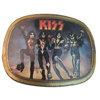 1977 KISS ORIGINAL DESTROYER BELT BUCKLE PACIFICA MFG LA CAL 90245 RARE VINTAGE