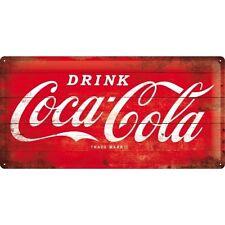 Nostalgie Blechschild - Drink Coca-Cola - Blechschilder
