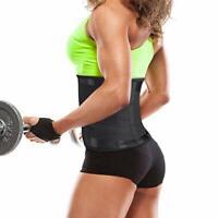 US women Power Belt Hot Slimming Fajas Sport Body Shapers Waist Trainer Trimmer