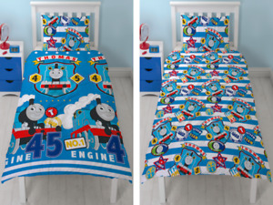 Thomas the Tank Engine Friends Reversible Bedding 2 in 1 Single Duvet Cover Set
