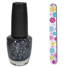 OPI Gwen Stefani '14 Holiday SO ELEGANT Black & Chrome Glitter Nail Polish HRF18
