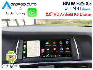 """BMW F25 X3 Series - Touch 8.8"""" Android 9.0 Display + CarPlay & Android Auto"""