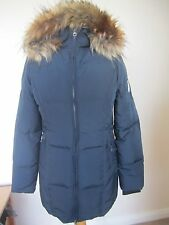 Kingsland Snowdrop Ladies Long Down Jacket 153-OW-207 - Navy - XS (UK 8)
