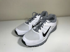 Nike White and Grey DART 12 Shoes! Men's Size 9 US! Barely Used!