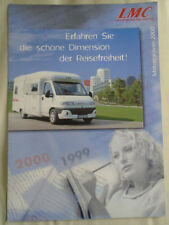 LMC Motorhome range brochure 2000 German text