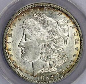 1886-O 1886 Morgan Dollar $1 ANACS VAM-1A E Rev Top 100