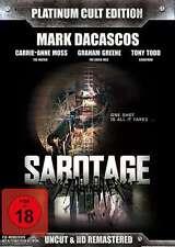 Mark Dacascos SABOTAGE - PLATINUM CULT EDITION Limited Uncut 2 DVD Box Neu
