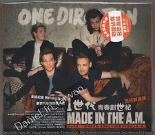 One Direction: Made in the A.M. (2015) CD & FOUR STICKER TAIWAN