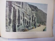 GEORGIE/Gravure 19°in folio couleur/Station entre Goudaour et Mleta