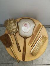 Antique Vanity Set, Vintage Mirror Brush And Comb Set