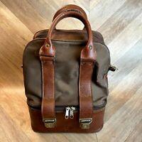 Vintage Thomas Taylor Brown Bowls Bag, Bowling, Fits 4 lawn bowls+clothing/shoes