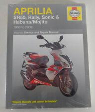 Reparaturanleitung Aprilia SR 50, Rally, Sonic und Habana / Mojito Bj. 93 - 09