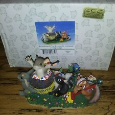 Charming Tails 98/307 Friendship Is Reason To Celebrate Resin Anniversary Figure