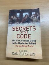 "2004 ""THE SECRET CODE"" UNAUTHORISED GUIDE DA VINCI CODE MYSTERIES PAPERBACK BOOK"