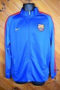 FC Barcelona Licensed Blue Nike Jacket XL - VGC - Free Postage