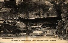 CPA   Forét de Fontainebleau -Grotte des Dryades (Gorges d'Apremont) (248918)