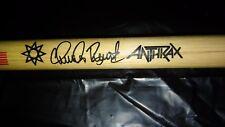 Anthrax Logo & Charlie Benante Signature Drumstick 2000' Concert Tour Drum Stick