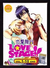 *NEW* LOVE STAGE!! *10 EPISODES*ENGLISH SUBTITLES*ANIME DVD*US SELLER*YAOI*BL*