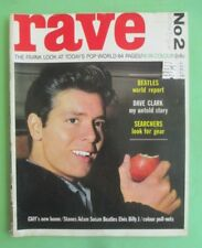 RAVE magazine,No.2, March 1964- Beatles,Rolling Stones,Dave Clark,Searchers +