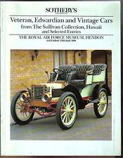 Sothebys 5/5/90 Lutzmann Panhard Albion Sunbeam Wolseley Covert Peerless Ford T