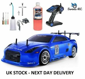 Petrol RC Car With *Two Gears- Remote Control Car With STARTER KIT & NITRO FUEL