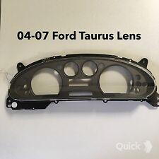 04-07 Ford Taurus Speedometer cluster  plastic , lens cover .