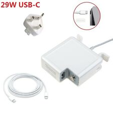 "29W Power Adapter Charger For Apple Macbook 12"" USB-C Type C Cable Power Supply"