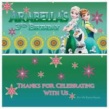Frozen Fever Theme Chocolate Wrappers Printable Digital -Print At Home 4x6 Photo