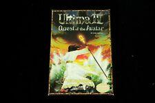 Ultima IV Quest of the Avatar Origin 1985 Commodore 64 Complete w/ Box Cloth Map