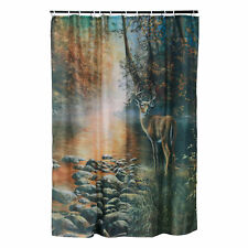 River's Edge Products Shower Curtain - Deer
