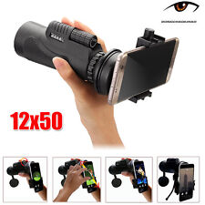 Camera Lens Monocular Telescope for Smartphone +Mobile Phone Universal Holder